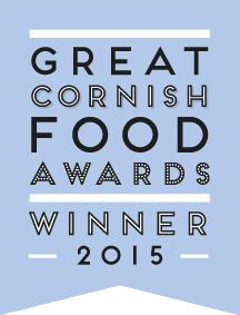 Great Cornish Food Awards Winner 2015